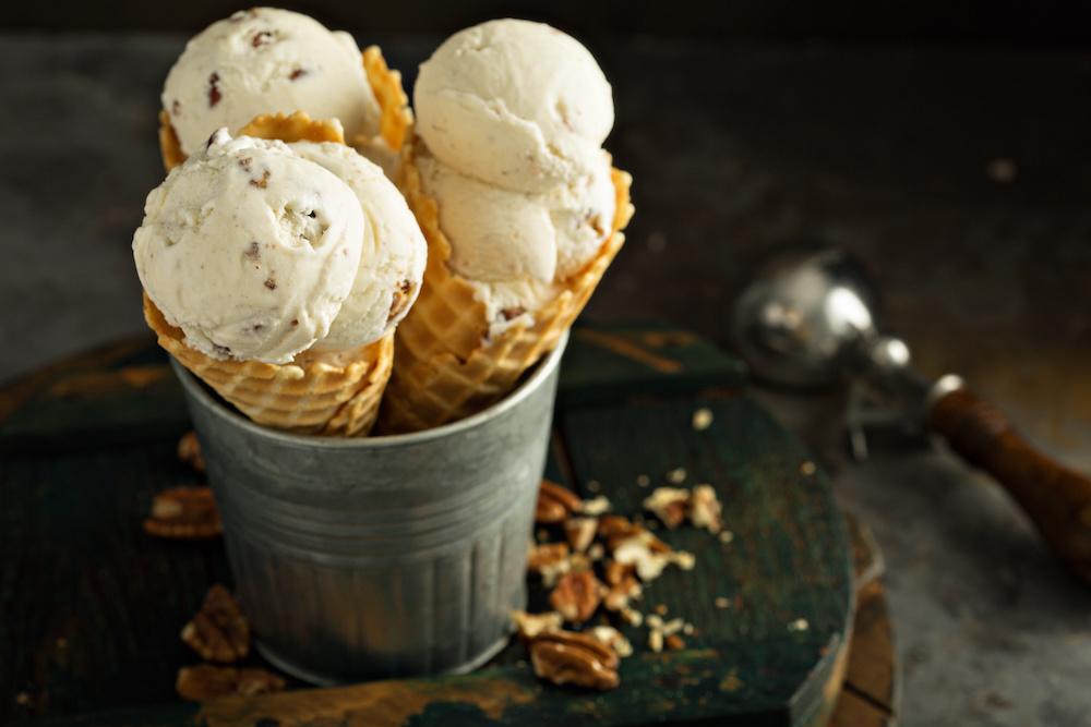 making ice cream with kitchenaid mixer